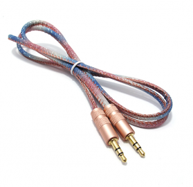 Audio Aux kabal GLITTER roze